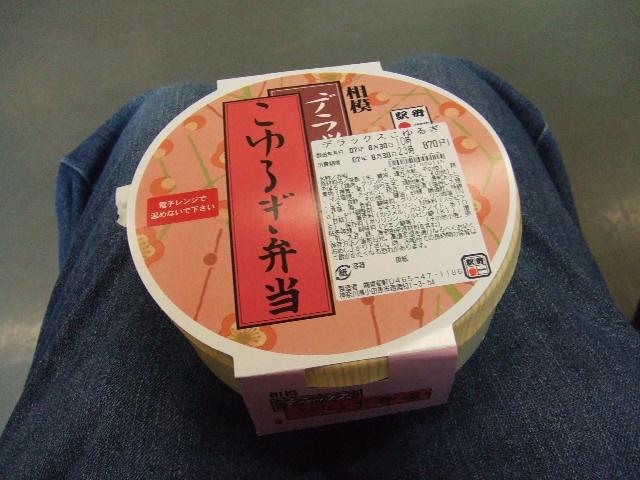 駅弁:こゆるぎ弁当870円